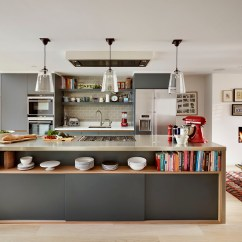 Kitchen Designer Retro Cabinets Homes And Gardens Of The Year Award Roundhouse Design