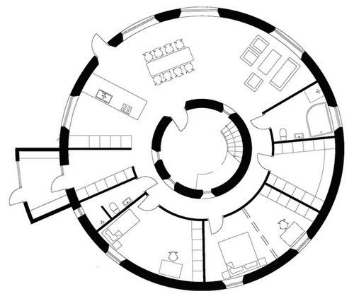 pre-fab « round houses