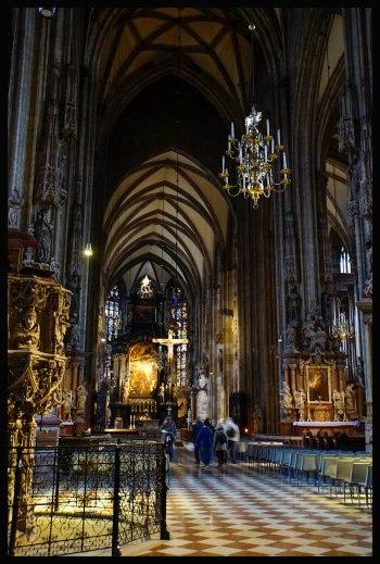 Vienna - Inside St. Stephen's