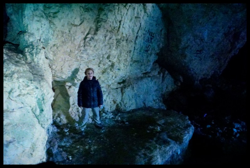 Exploring caves - Piatra Craiului National Park