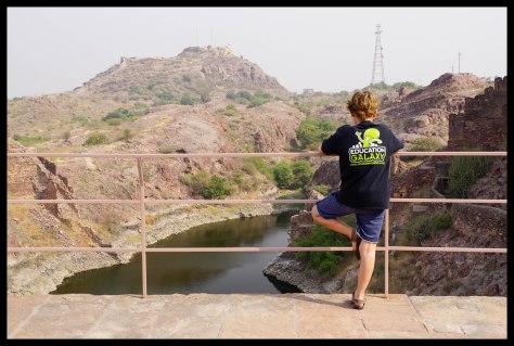 Jodhpur - Watching Dad zipline from the fort