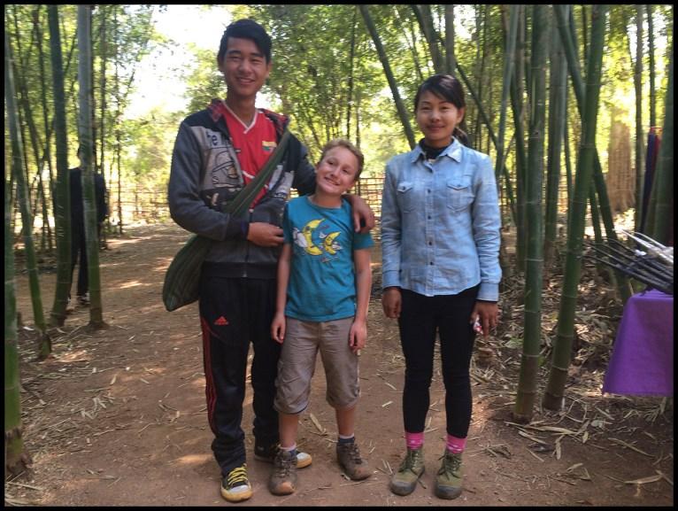Day 3 - Khun Thura Aung (AKA Mr. Chef) , me and Nwe Nwe