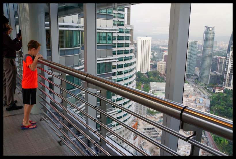 View from the Skybridge - Petronas Twin Towers