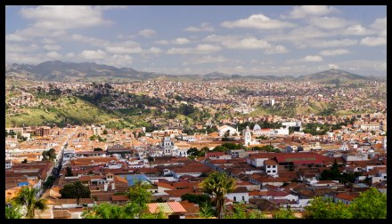 Sucre old town and beyond