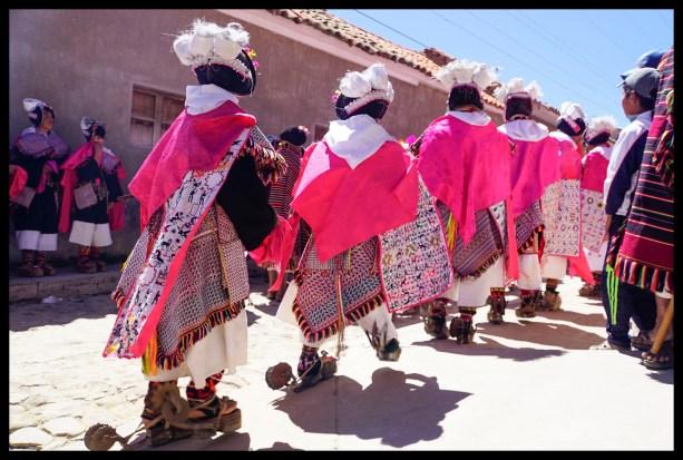 Tarabuco dancers.