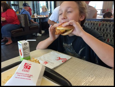 Enjoyed some Chick-Fil-A