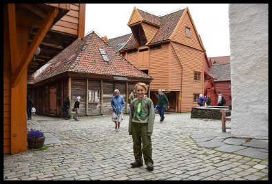 The UNESCO site in Bryggen