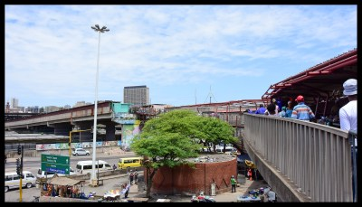 The unfinished overpass that is now the herb market
