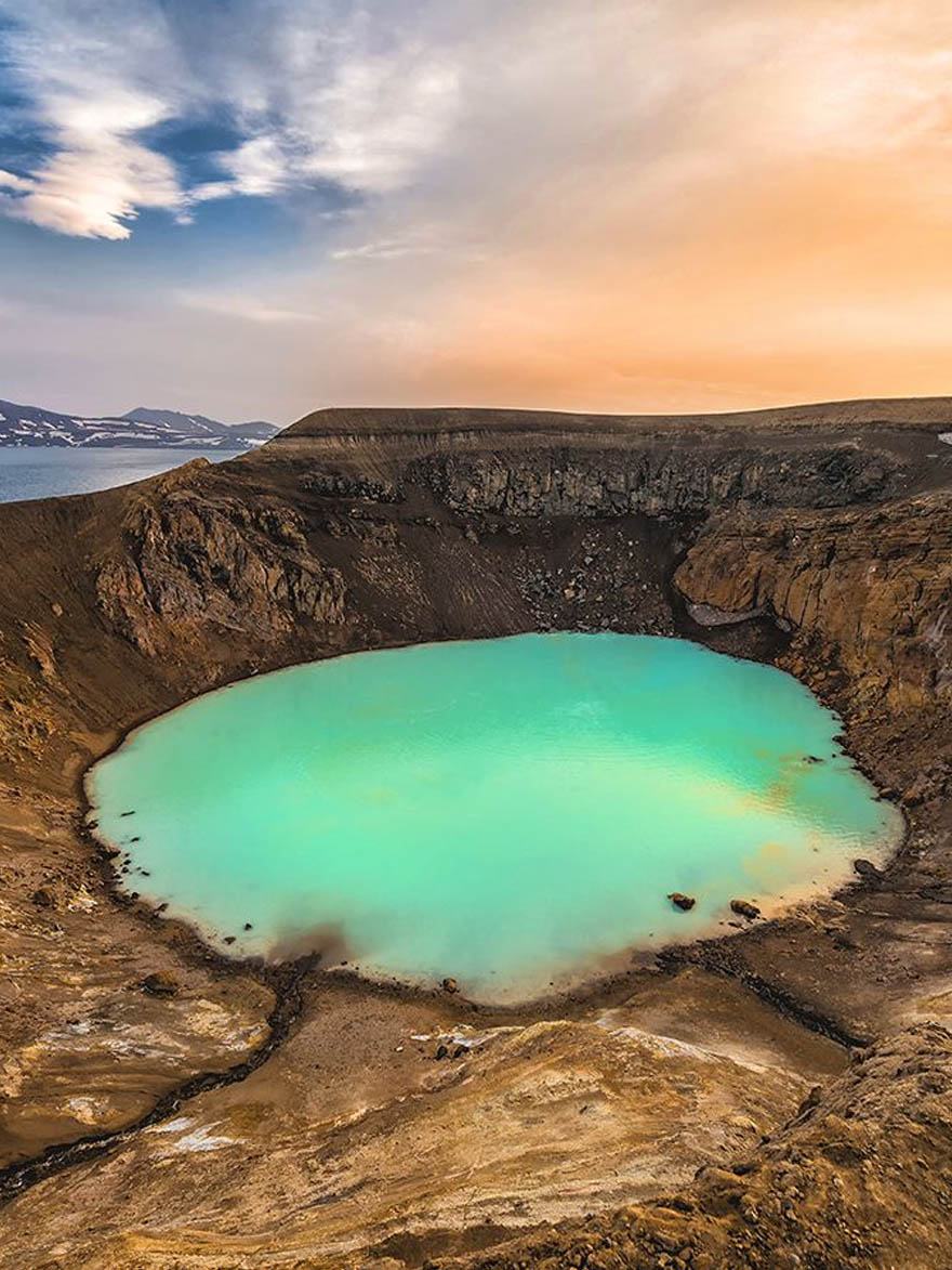 10 things not to miss in Iceland: Askja Volcano, Iceland