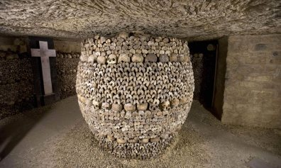 Paris City Catacombs