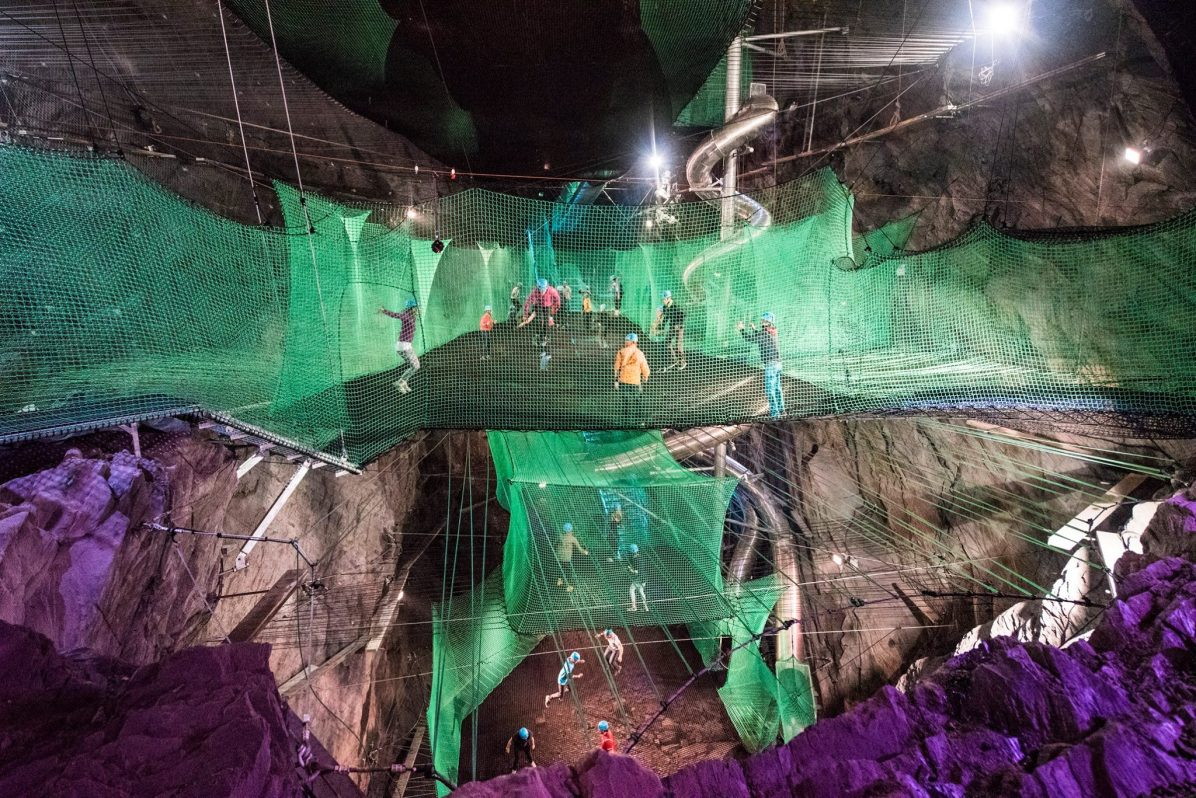 zip world bounce below adventure