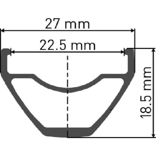 DT Swiss X 412 MTB Rim
