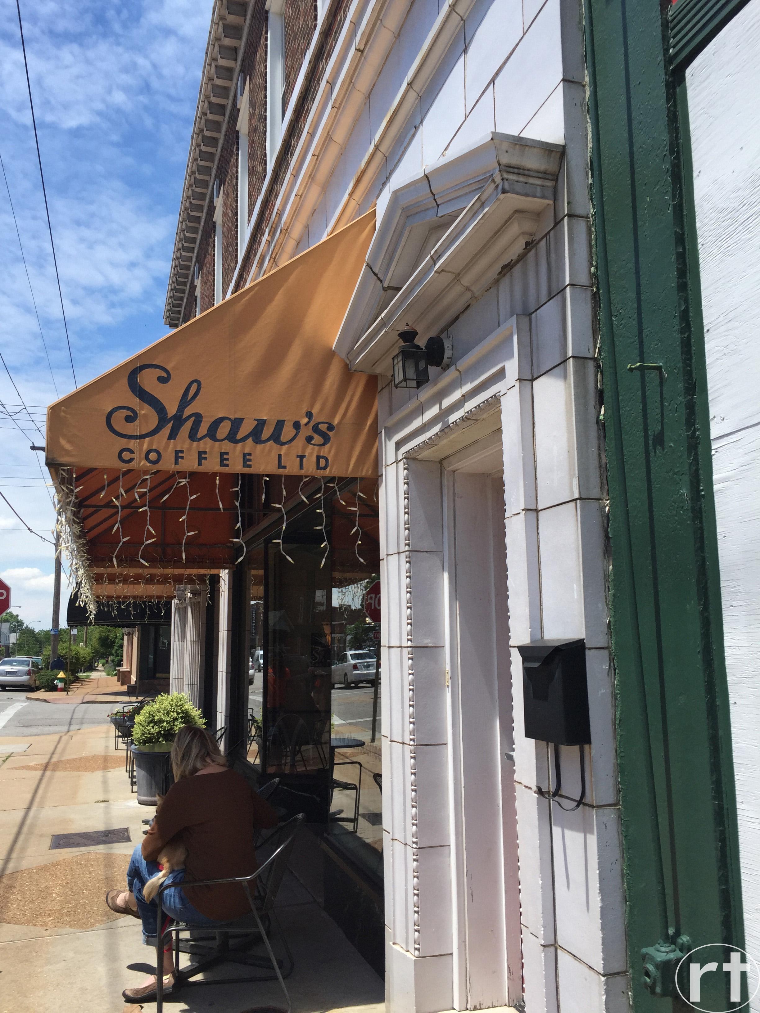 Shaw's Coffee St. Louis Street View