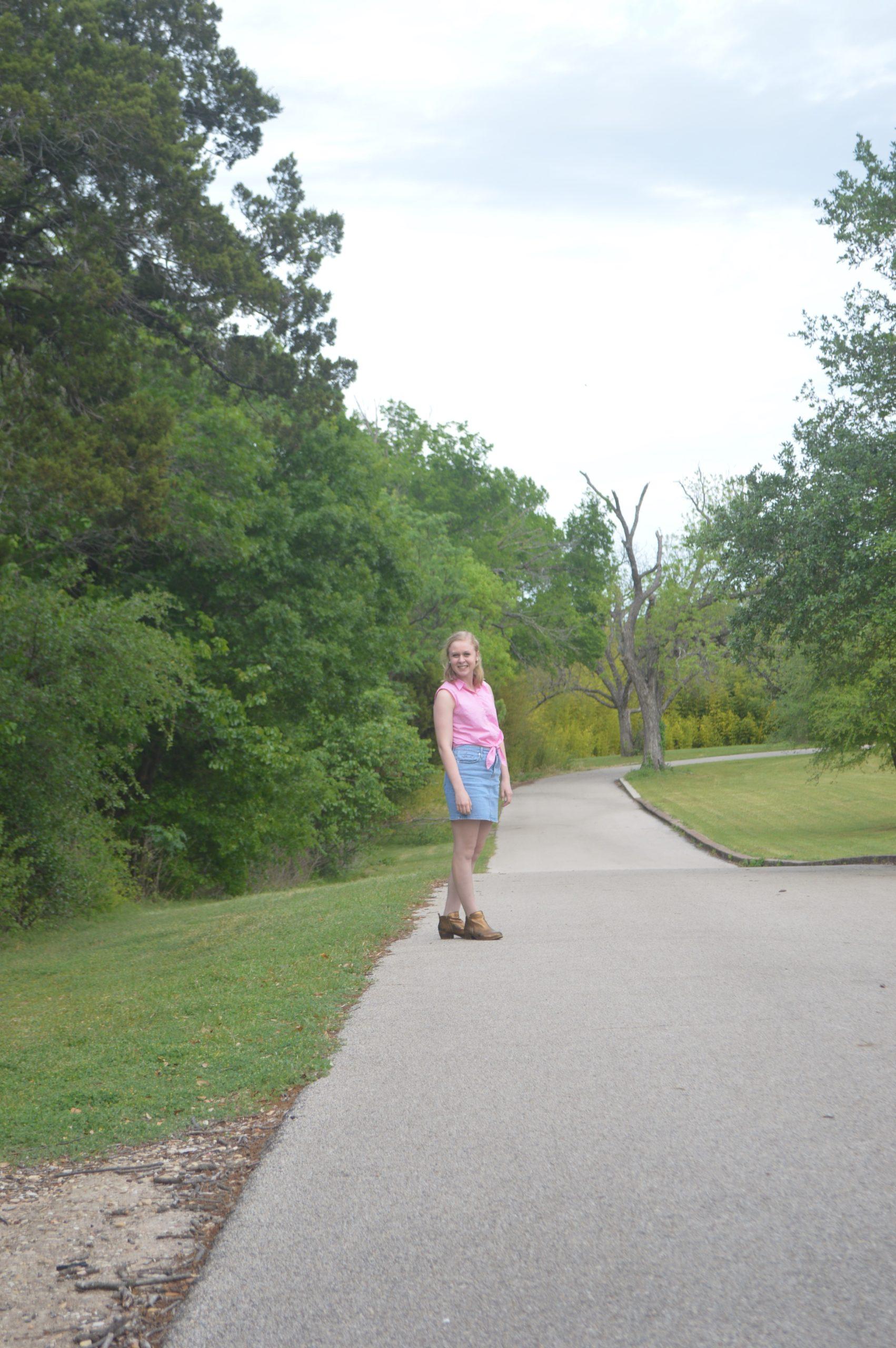 Cameron Park Waco Texas Cowgirl