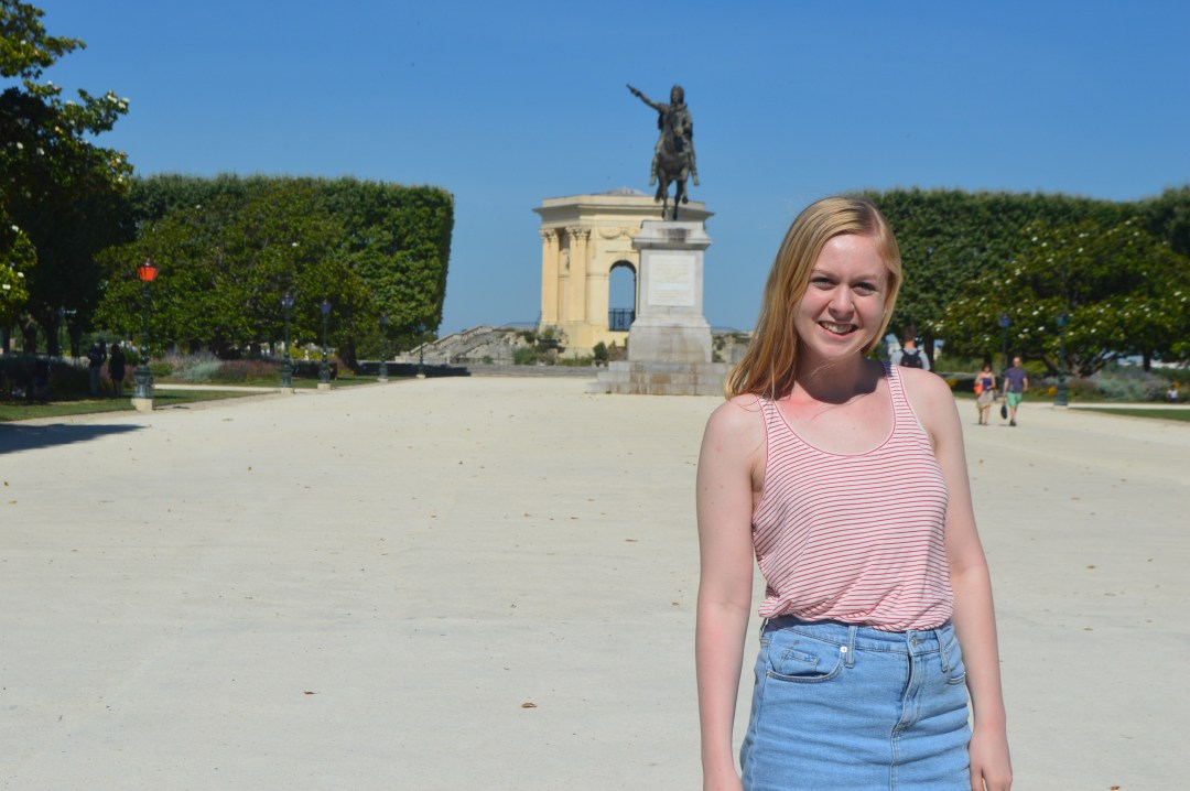 Peyrou Montpellier France Round Trip Travel
