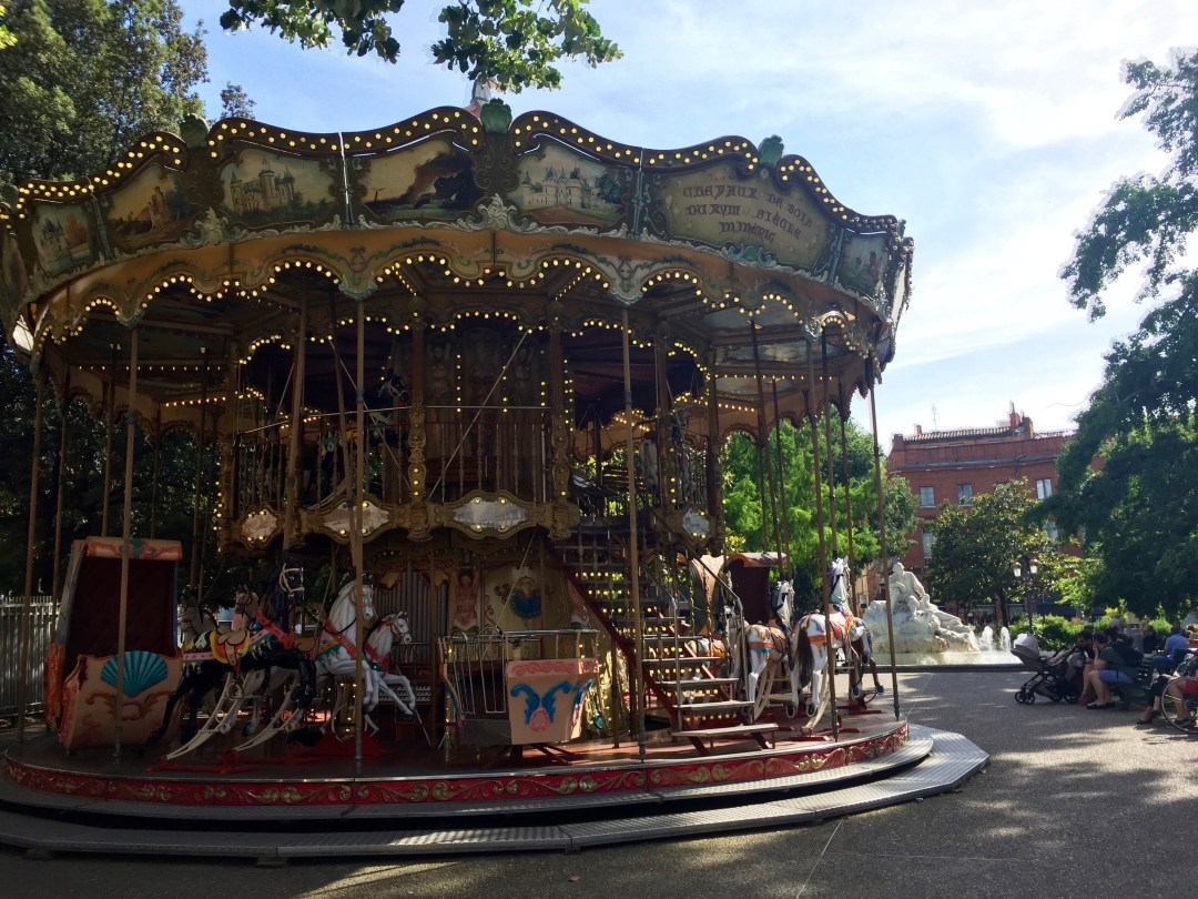 Jean-Jaurès Toulouse Carousel France Europe