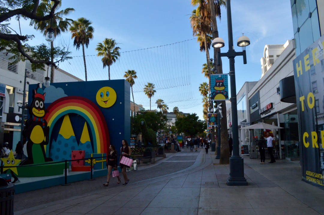 Promenade on Third Santa Monica California Mall