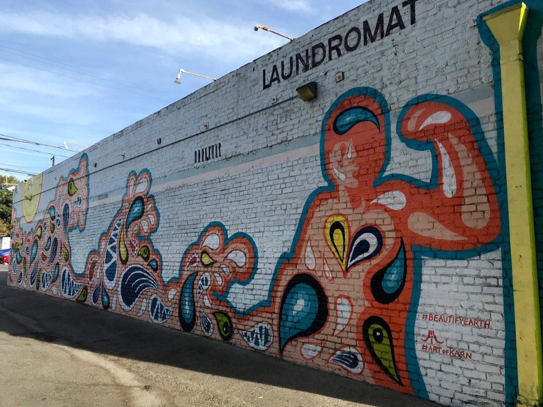 Santa Monica Main Street California Mural Street ARt