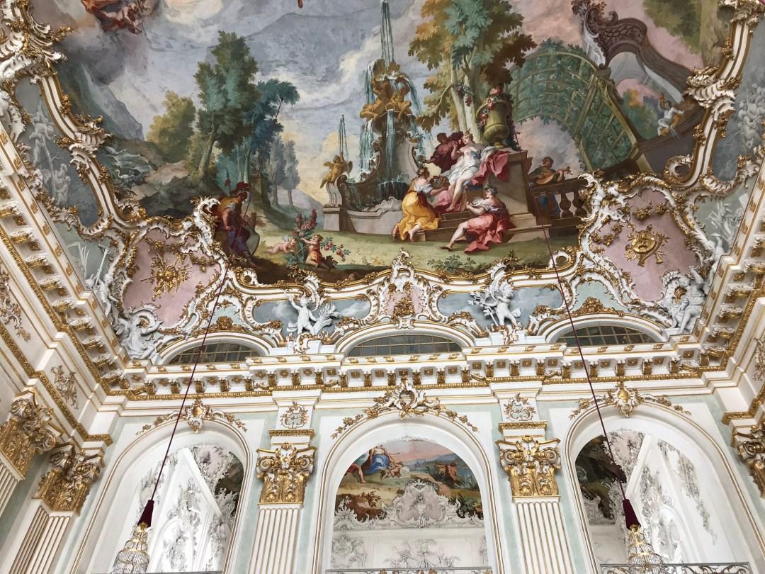 Nymphenburg Palace Mural Munich Germany