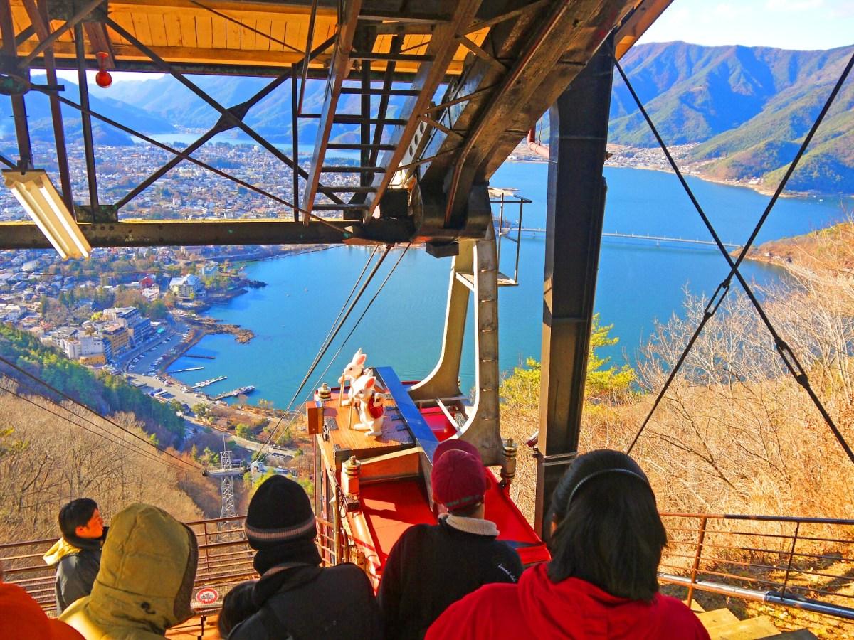 富士山 パノラマロープウェイ | Ropeway | Fujisan | Yamanashi | RoundtripJp