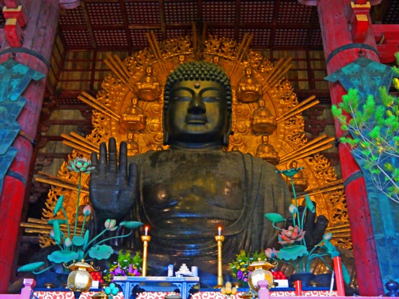 奈良大佛 | 盧舍那佛 | 奈良的象徵 | 日本 | 巡日旅行攝