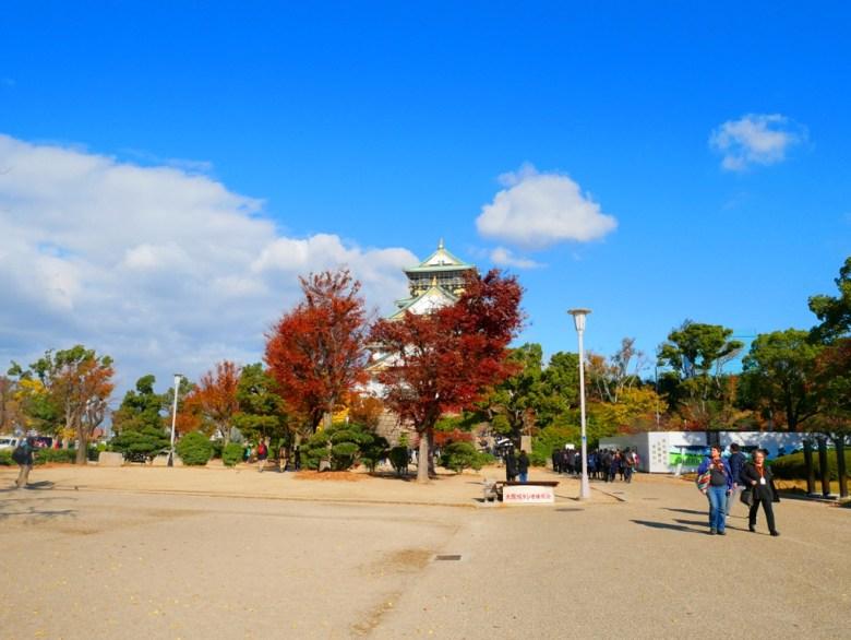 大阪府大阪城 | 日本 | 巡日旅行攝
