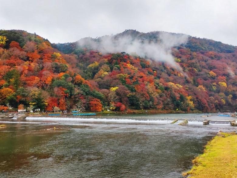 楓葉 | とげつきょう | 渡月橋 | 桂川 | 京都 | 近畿(關西) | 日本 | 巡日旅行攝