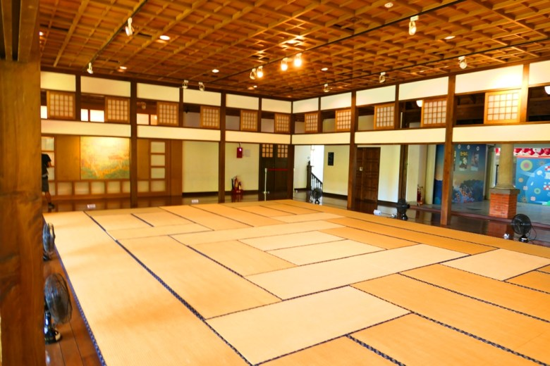 日式風格 | 榻榻米和室 | 北投溫泉博物館 | 北投 | 臺北 | 巡日旅行攝
