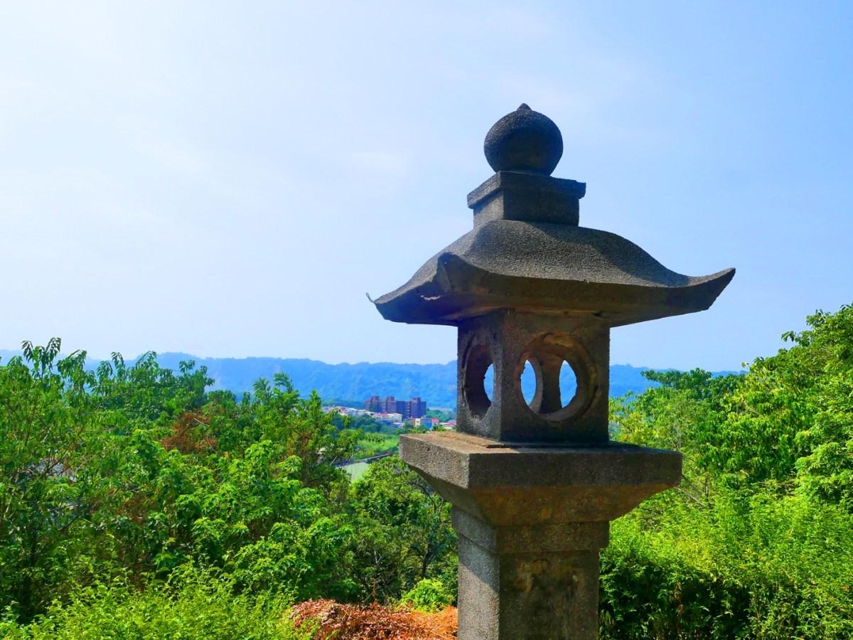 石燈籠與絕美的竹山鎮山景 | 鳥瞰竹山 | 竹山 | 南投 | 臺灣 | 巡日旅行攝