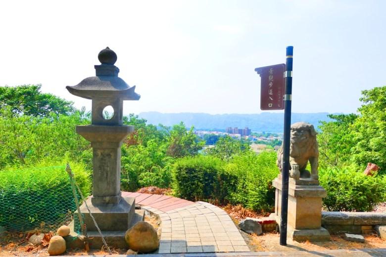 石階步道入口 | 石燈籠 | 狛犬 | Takeyama Shrine | Zhushan | Nantou | RoundtripJp