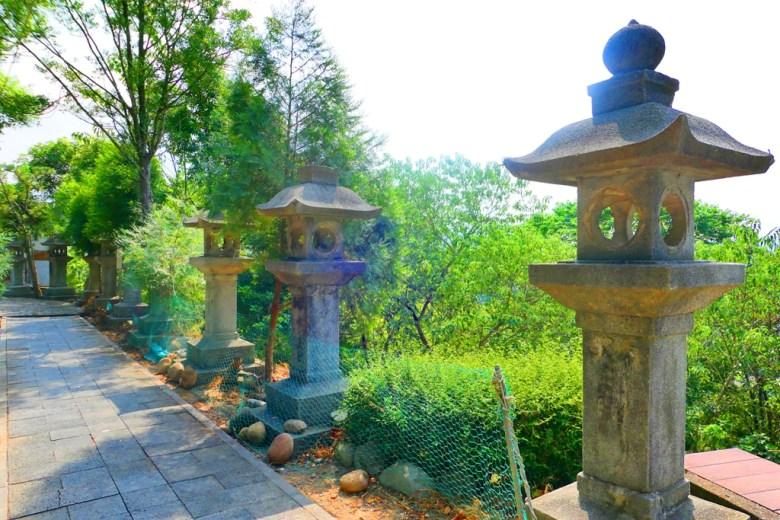 和風的石階步道 | 石燈籠 | 竹山神社遺跡 | 竹山 | 南投 | 臺灣 | 巡日旅行攝