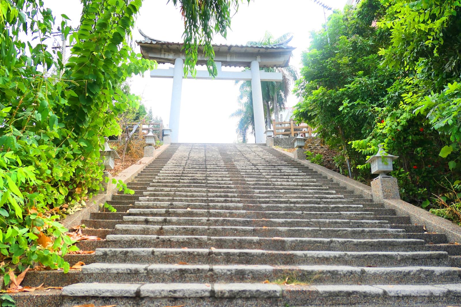 林內神社第二鳥居 | 天梯 | Linnei Shrine | Linnei | Yunlin | Taiwan | RoundtripJp