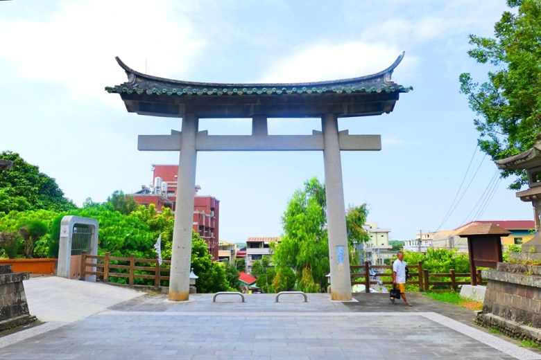 林內神社參道 | 第二鳥居 | 林內神社遺跡 | Linnei Shrine | Linnei | Yunlin | Taiwan | 巡日旅行攝