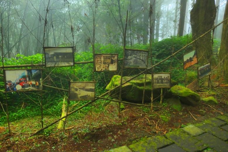 奮起湖神社遺跡 | 斑駁褪色的老舊照片 | 歷史 | 奮起湖 | 嘉義 | 臺灣 | 巡日旅行攝