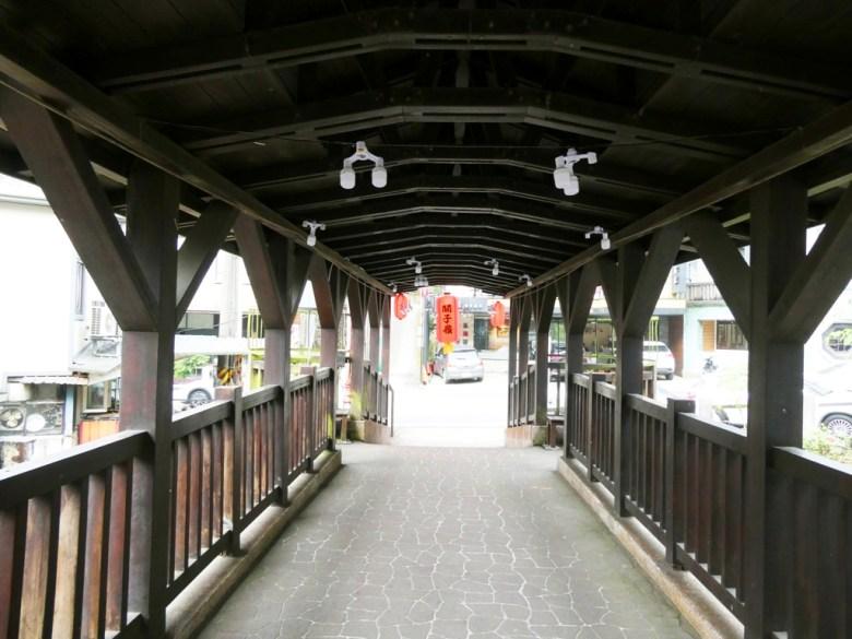 閒雲橋 | 濃濃日式風情 | 溫潤的木橋 | 橫斷柚子頭溪 | 臺南 | 臺灣 | 巡日旅行攝