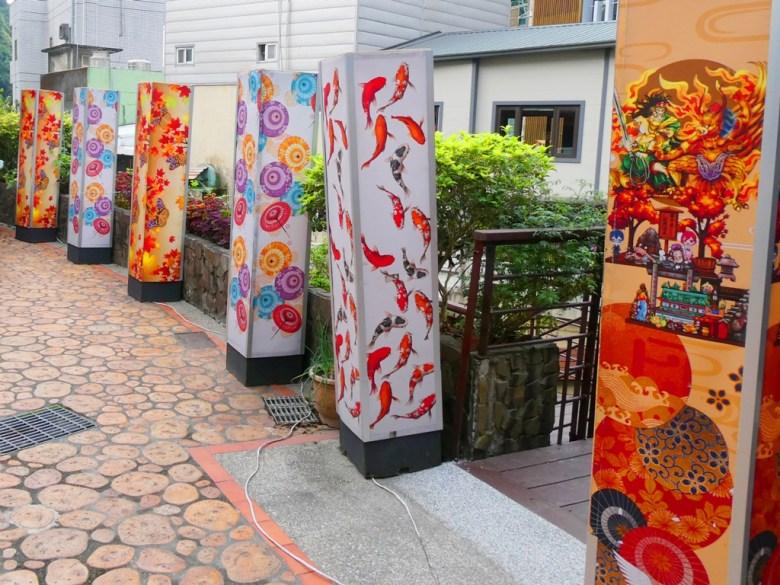 日式花燈 | 閒雲橋旁 | 吉田屋前 | 靜樂館前 | 臺南 | 臺灣 | 巡日旅行攝
