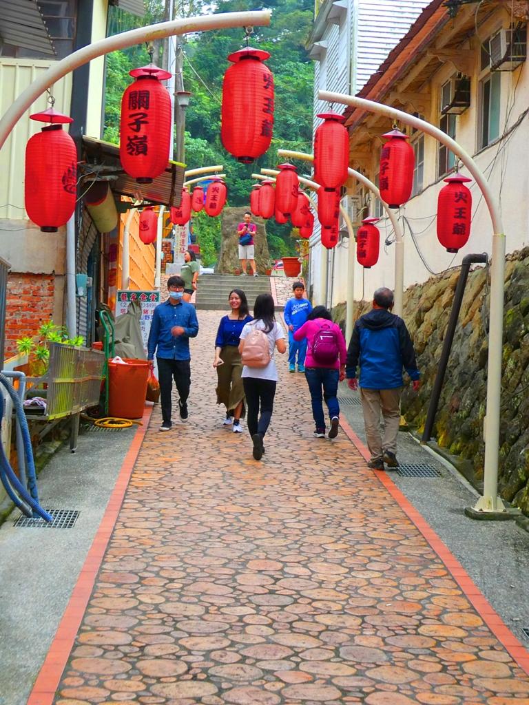 昔日最美的日式溫泉街 | 關子嶺老街 | 往公共浴場遺址方面 | 臺南 | 臺灣 | 巡日旅行攝