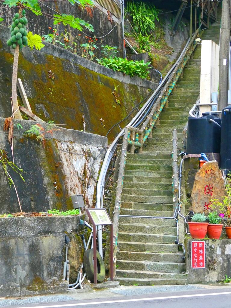舊好漢坡入口 | 三百棧 | 男人の坡 | 高聳而險峻 | 關子嶺 | 臺南 | 臺灣 | 巡日旅行攝