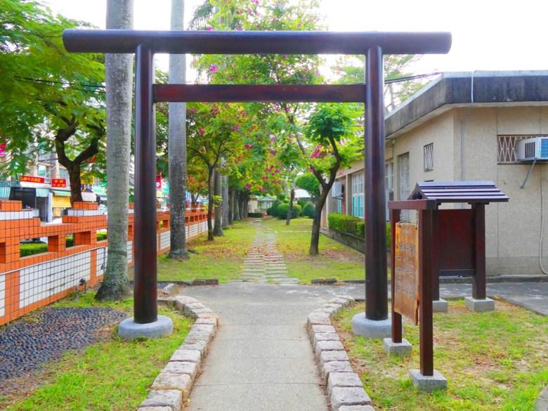 神社前參道 | 鳥居 | 鹽水國民小學內 | 迷你神社 | 台南市 | Tainan | 巡日旅行攝