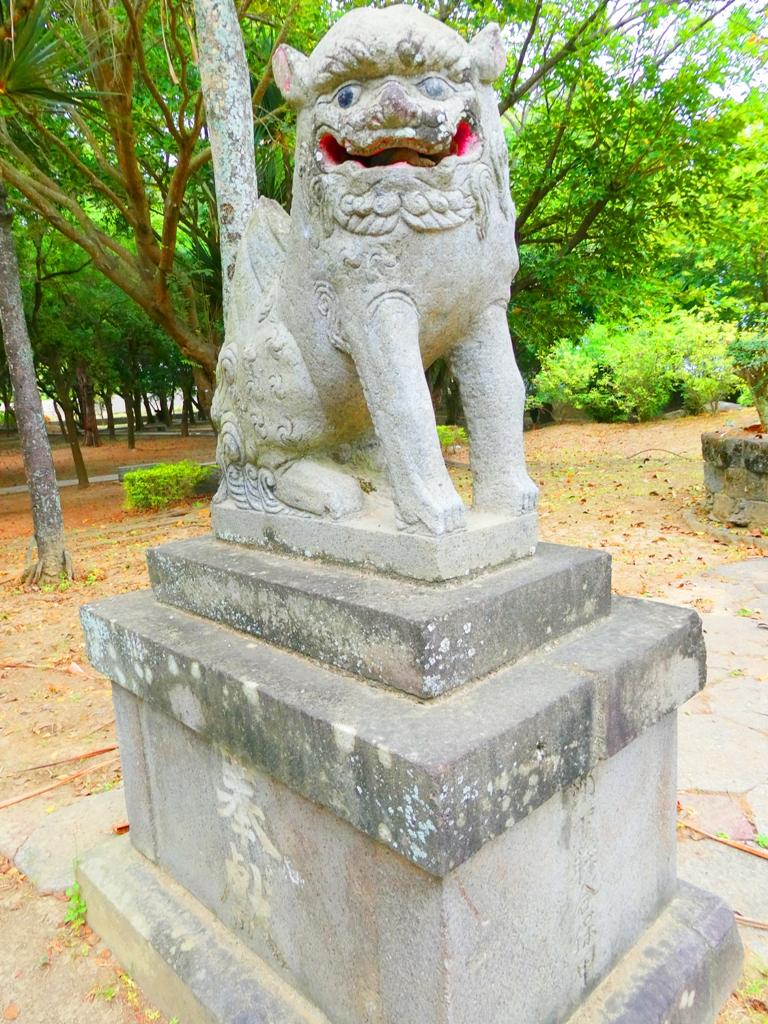 東石神社狛犬 | 朴子藝術公園 | Dongshi | Puzi | Chiayi | RoundtripJp