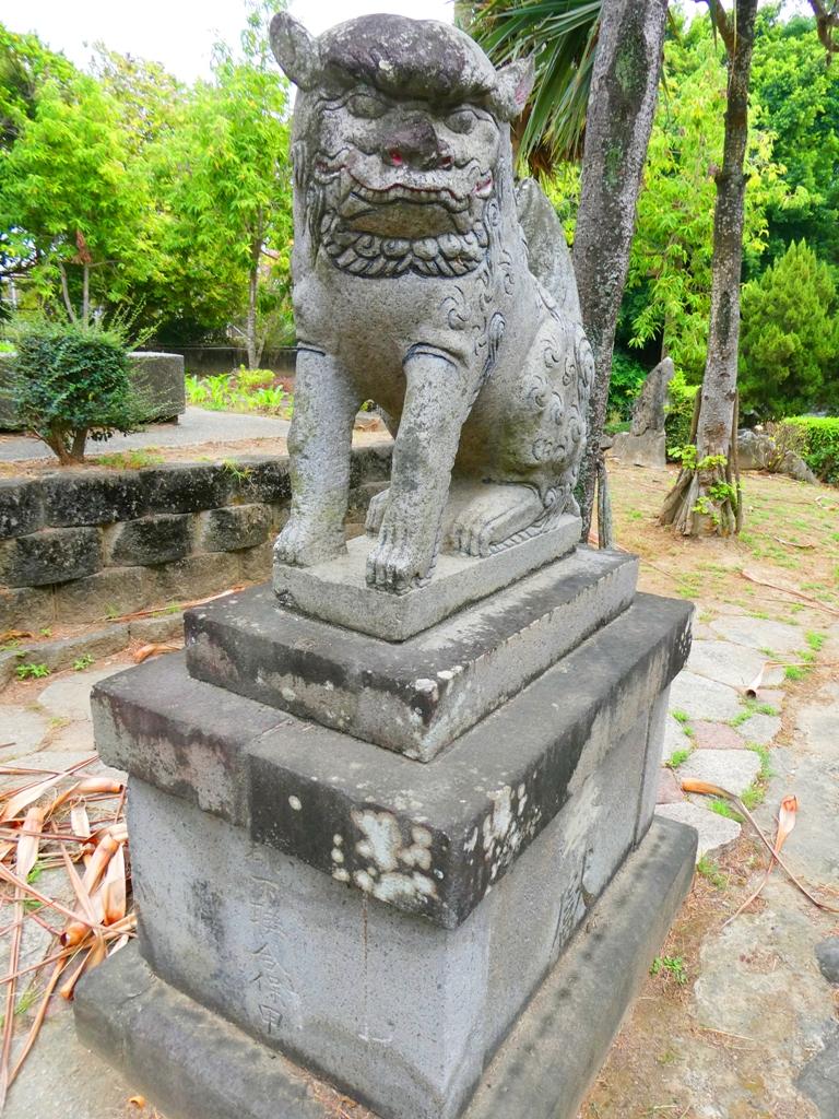 東石神社狛犬 | 朴子藝術公園 | 東石 | 朴子 | 嘉義 | 巡日旅行攝