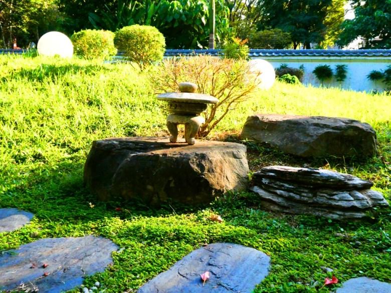 石燈籠 | 昭和J18內日式庭園 | 嘉義公園 | 嘉義 | 臺灣 | RoundtripJp