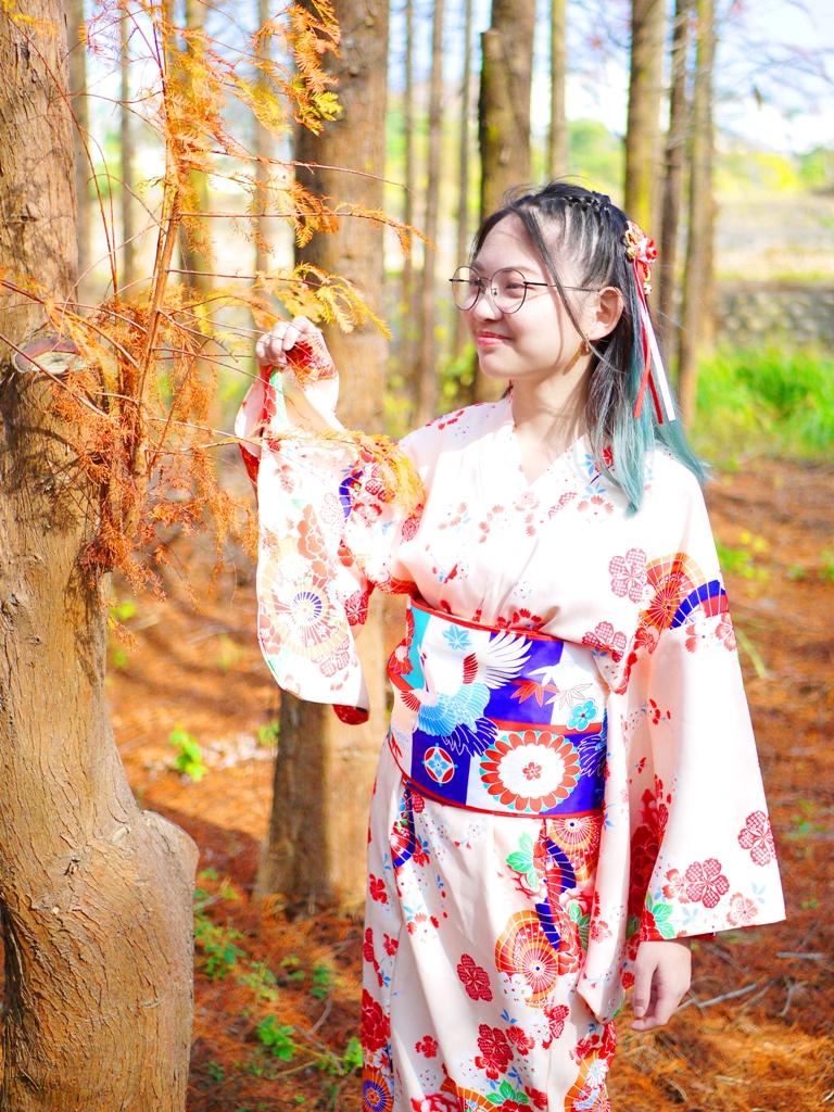 親近大自然 | 真實感受落羽松之美 | 日本和服 | 自然清新 | だいと | たいちゅう | 巡日旅行攝