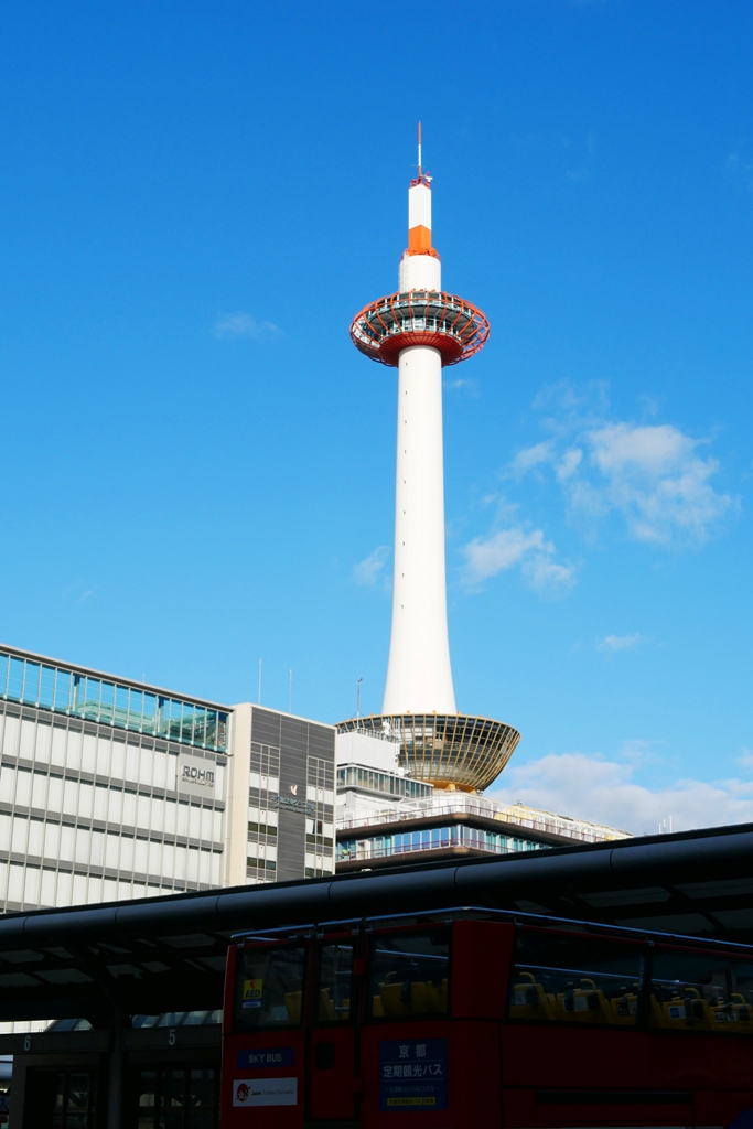 Colorful Japan | 京都府 | 京都塔 | 日本白色景點10選 | RoundtripJp