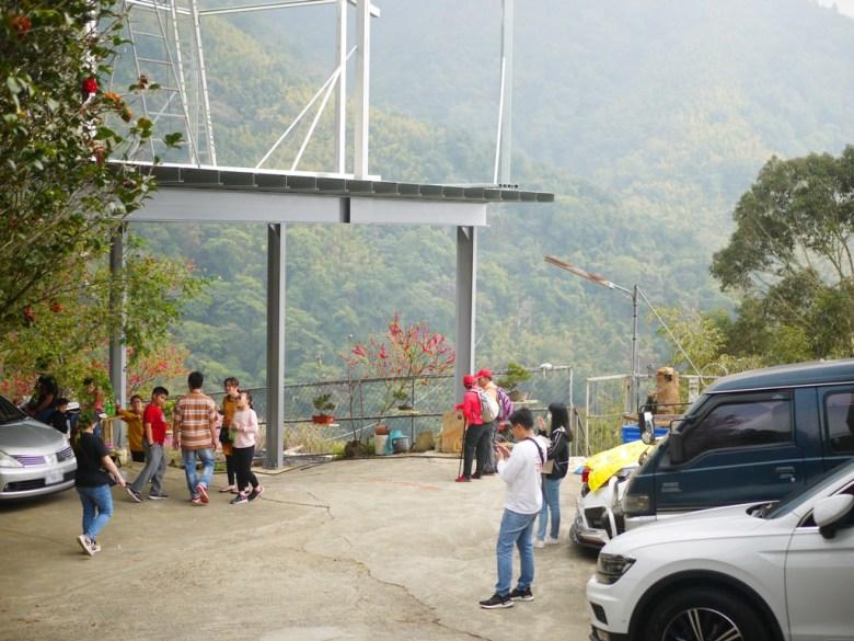 蘇家農園 | 旁為洗手間 | 臺灣觀光客 | 往下美人谷賞櫻環線 | 石壁風景區 | Gukeng | Yunlin | 巡日旅行攝