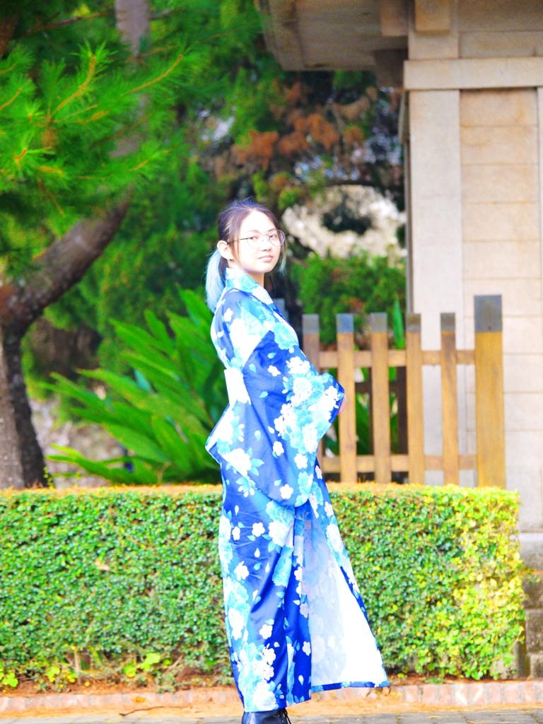 和服少女與日本奉安殿 | 日本味 | 日系 | 日本文化 | 三義 | Sanyi | 苗栗 | Miaoli | 巡日旅行攝