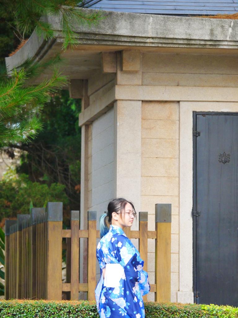 日本和服 | 和服少女 | 御真影奉安殿 | 日本文化 | 三義 | Sanyi | 苗栗 | Miaoli | RoundtripJp