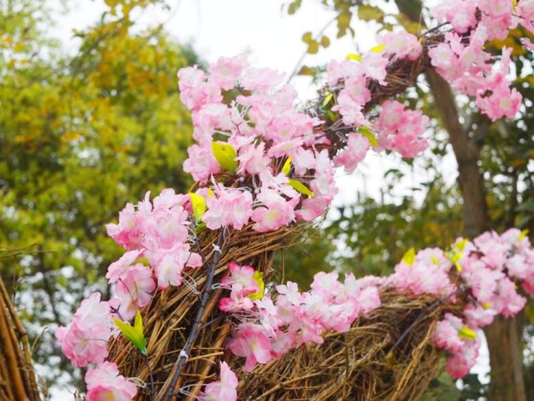 櫻花樹裝置藝術 | 櫻花裝置藝術石馬公園 | Shih Ma Park | 櫻花公園 | 日式公園 | 巡日旅行攝