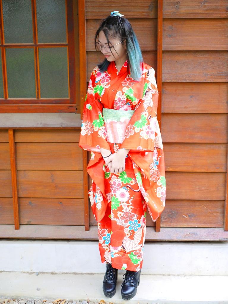 每個角落都充滿著日本味 | 日本和服 | 超級好拍 | 網美景點 | 清水公學校日式宿舍群 | 清水 | 台中 | チンシュイ | タイジョン | RoundtripJp