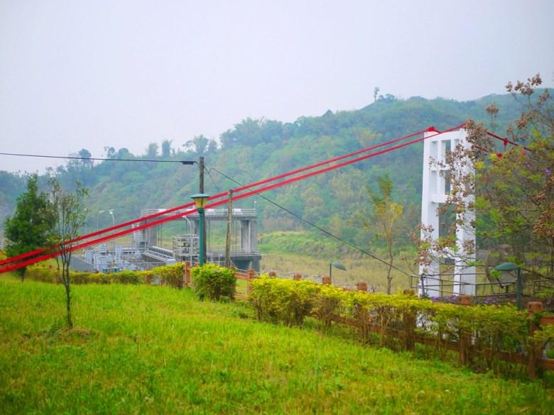 桶頭吊橋入口處   壯闊自然景緻   桶頭攔河堰   青い溪流   Takeyama   Zhushan   Nantou   Wafu Taiwan   RoundtripJp